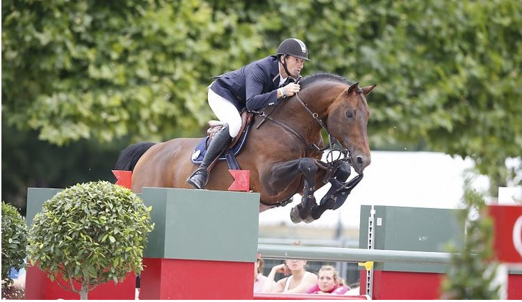 grand prix show jumper loses bridle mid round the horseaholic. Black Bedroom Furniture Sets. Home Design Ideas