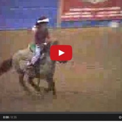 Watch This Little Girl Running Barrels On Her Cute Pony – Adorable!