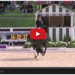 Charlotte Dujardin – World Champion – Alltech FEI World Equestrian Games 2014