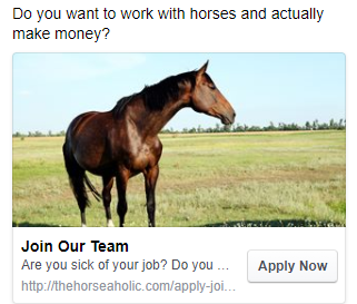 work with horses and actually make money