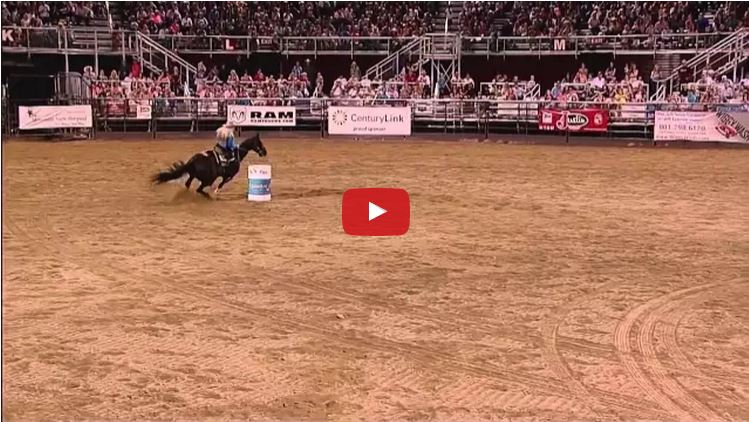 After Becoming Paralyzed World Champion Barrel Racer