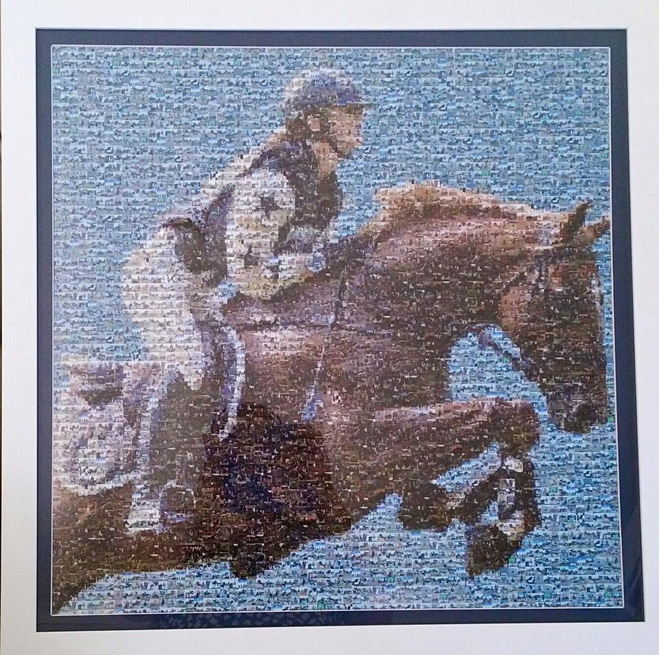 #RideForOlivia Mosaic